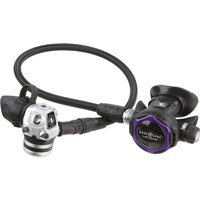 Aqua Lung Legend LX Supreme Regulator - Black / A-Clamp