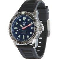 Szanto HLA Dive Watch - White Face / Black Strap
