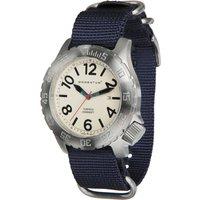 Momentum Torpedo NATO Watch - White Face / Blue NATO