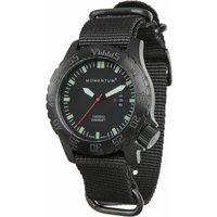 Momentum Torpedo Black-Ion NATO Watch