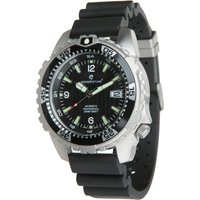 Momentum M1 Deep 6 Dive Watch - White Face / Black Strap