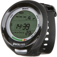 Puck Pro Plus Dive Computer - Black Frame/Black Silicone - Computer Gifts