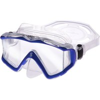 Scubapro Crystal Vu Mask - Metallic Blue/Clear Skirt