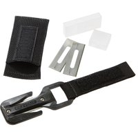 EEZYCUT Trilobite Knife with Harness Pouch - Black/White