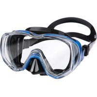 TUSA Freedom Tri Quest Mask - Black/Fishtail Blue