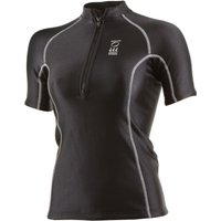 Fourth Element Ladies Thermocline Zipped Short Sleeve Top