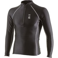 Mens Thermocline Zipped Long Sleeve Top - Extra Extra Large