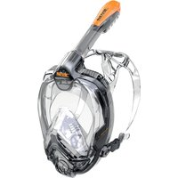 Seac Sub Libera Full Face Snorkel - Small / Clear / Pink - Small Gifts