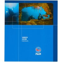 PADI Wreck Diver Speciality Manual - Diver Gifts