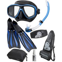Simply Scuba Simply Scuba Ceos Mask Snorkel and Fin Package