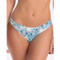 Seafolly Sunflower Hipster Bikini Bottom - Electric Blue