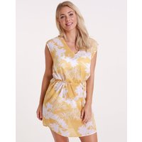 Seafolly Wild Tropics Cover Up Dress - Saffron