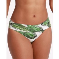 Melissa Odabash Brussels Fold Bikini Bottom - White Palm