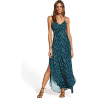 ViX Ventana Ocean Cutout Dress - Teal