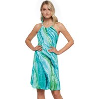 Roidal Roidal Oceanic Ivor Dress - Turquoise