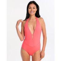 Lepel London Lepel London Savannah Plunge Swimsuit - Malibu Red