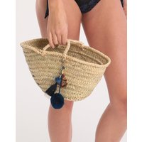 Ashiana Small Anchor Basket Bag - Natural