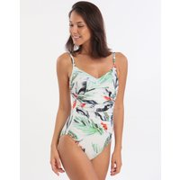 Maryan Mehlhorn Breeze Swimsuit - White Leaves