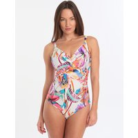 Fantasie Paradise Bay Underwired Twist Front Swimsuit - Multi