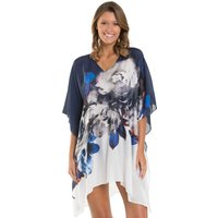 Jets Jets Picturesque Kaftan - Ink White