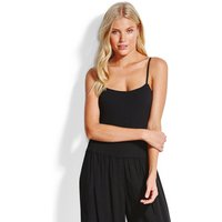 Seafolly Rib Bodysuit - Black
