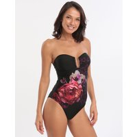 Ted Baker Splendour U Bar Swimsuit - Black