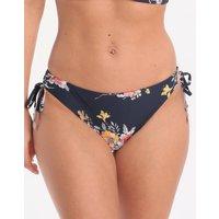 Seafolly Mid Summer Loop Tie Side Hipster Bikini Bottom - Indigo