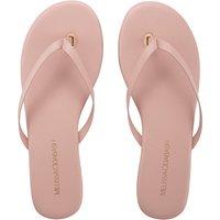 Melissa Odabash Flip Flops - Pink