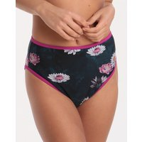 Ted Baker Wonderland High Waisted Bikini Bottom - Dark Green