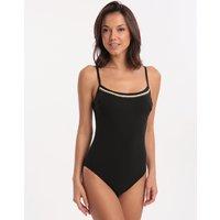 Maryan Mehlhorn Maryan Mehlhorn Statement Scoop Swimsuit - Black