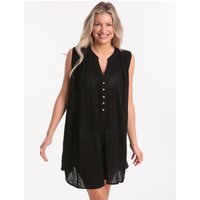 Seafolly Swing Beach Shirt - Black