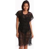 Gottex Profile Tutti Frutti Crochet Dress - Black