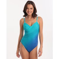 Roidal Brasil Arian Underwired Wrap Swimsuit - Blue
