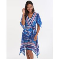 Gottex Gottex Sakura Beach Dress - Multi Blue