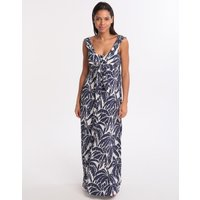 Watercult Club Coco Maxi Dress - Indigo Cream