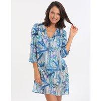 Gottex Exotic Paradise Tunic Dress - Multi Blue