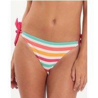 Banana Moon Keylime Dasia Tie Bikini Bottom - Coral