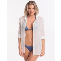 Banana Moon Adilson Gary Beach Shirt - White