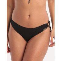 Watercult Watercult Summer Solids Loop Side Hipster Bikini Bottom - Black