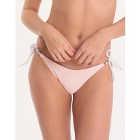 Heidi Klein Heidi Klein San Marina Tie Side Bikini Bottom - Pink