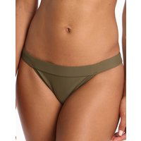 Ted Baker Theea Belted Classic Bikini Bottom - Combat Green