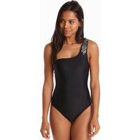 Ted Baker Ted Baker Yelmino Embellished Asymetric Swimsuit - Black