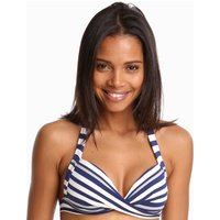 Jets Jets Vista 50s Moulded Bikini Top - Blue/White