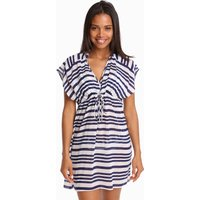 Jets Jets Vista Empire Kaftan - Blue/White