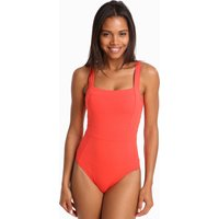 Jets Jetset Square Neck Swimsuit - Flamingo