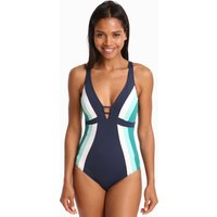 Jets Jets Revolve D/DD Plunge Swimsuit - Ink /Amazon