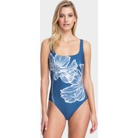 Gottex Lily Square Neck Tank Swimsuit - Dusk Blue
