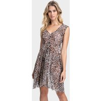 Gottex Gottex Profile Wild Thing Mesh Dress - Leopard