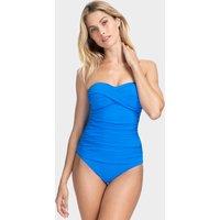 Gottex Profile Tutti Frutti Bandeau Swimsuit - Royal Blue