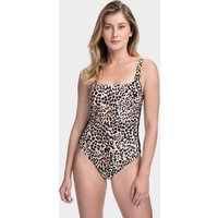 Gottex Gottex Profile Wild Thing Lace Up Side Swimsuit - Leopard